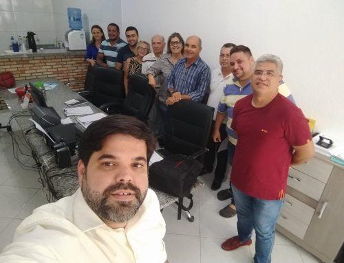 O Conselho Municipal realizou sua reunião mensal com a participação do Túlio Carvalho – Assessoria Atuária – ARIMA.